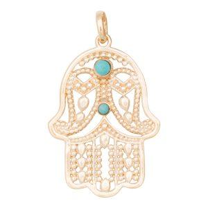 Charm Fatima Turquoise
